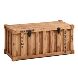 Truhe Container aus Massivholz